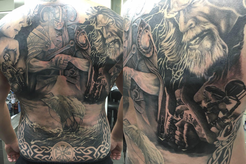 viikinki selkä